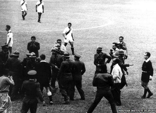 The world's worst stadium disaster – Estadio Nacional, Lima 1964