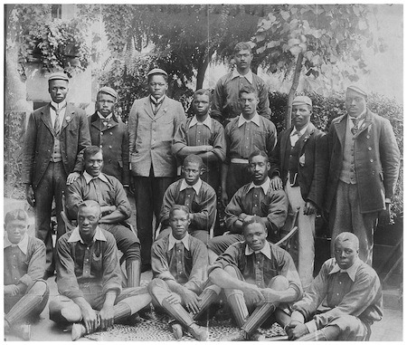 Prejudice and curiosity: Football's first black African touring party