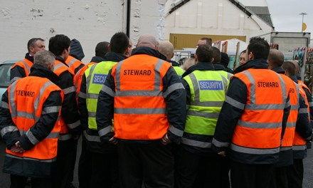 From the sidelines: a day in the life of a steward