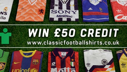 Classic Football Shirts – Euro 2016 Special Offer and Competition