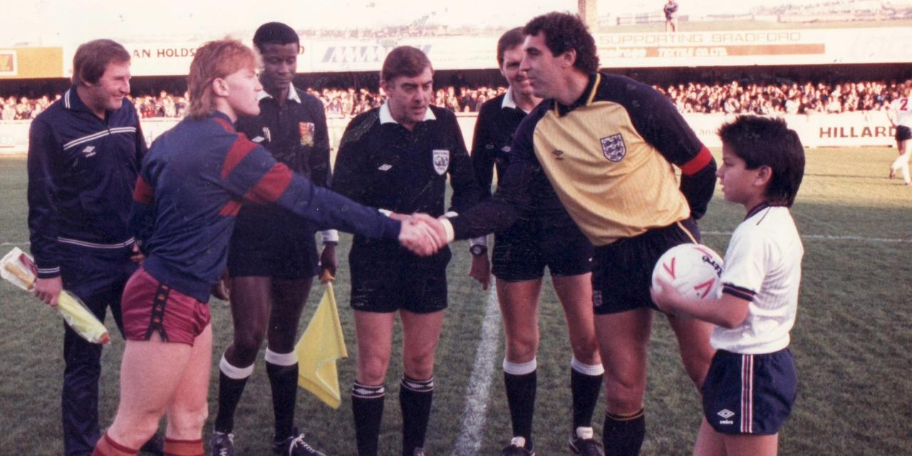 30 years on – Bradford City take on England at the reopening of Valley Parade