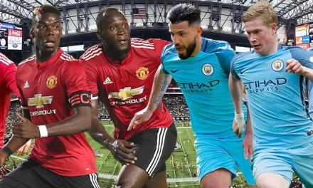 Premier League Title looks to be the Battle of the Manchesters