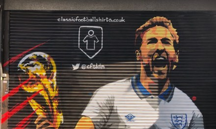 Three Lions and some shirts – the joy of Classic Football Shirts pop up shop