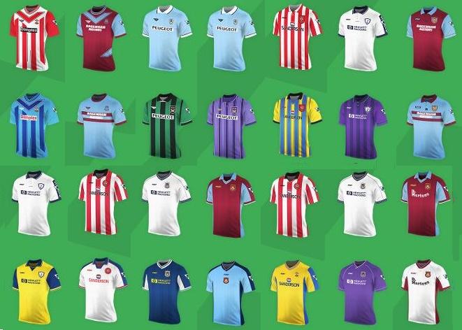 Premier League Pony kits