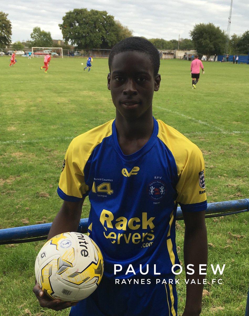 Paul Osew Raynes Park Vale Football Club
