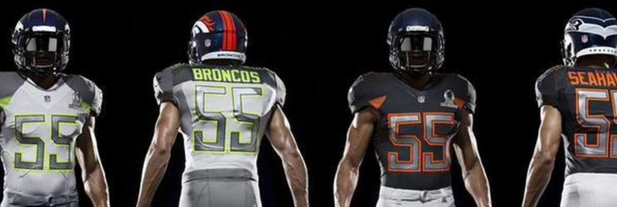 best service 8fad7 3f300 Photo: The NFL has released their 2015 Pro Bowl uniform ...