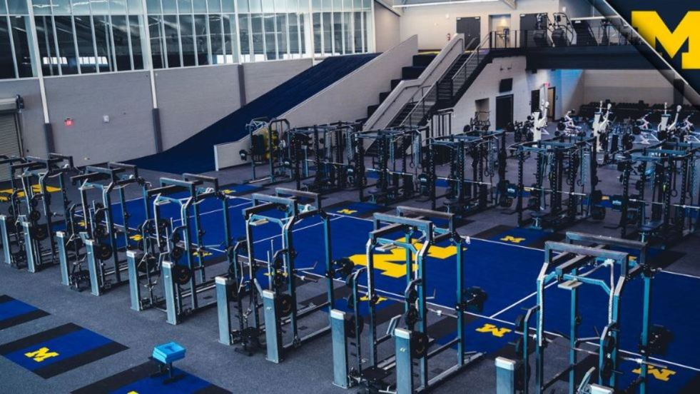 Michigan Football New Weight Room