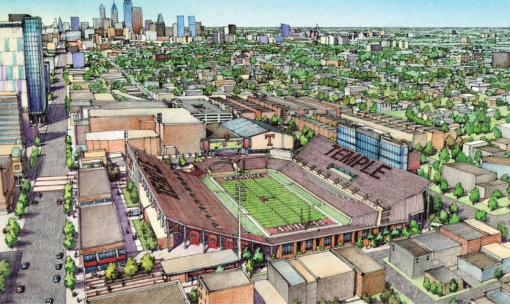 check out the renderings of the new stadium temple wants to build