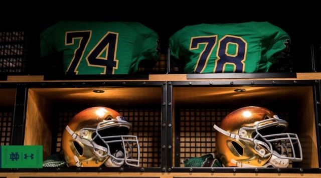 d17a9f5aa47 ... for a program composed entirely of hallowed traditions, the Irish are  just 6-5 all-time in green and lost their last Green Jersey Game at Notre  Dame ...