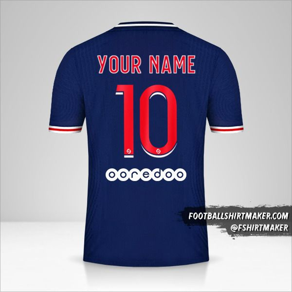 make paris saint germain 2020 21 custom