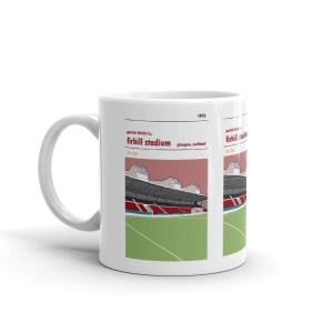 John Lambie coffee mug. Partick Thistle