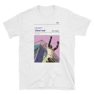 White Elland Road and Leeds United FC t-shirt