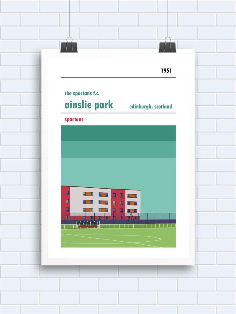 The Spartans Ainslie Park print