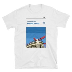 A t-shirt of the San Siro, home to Inter Milan