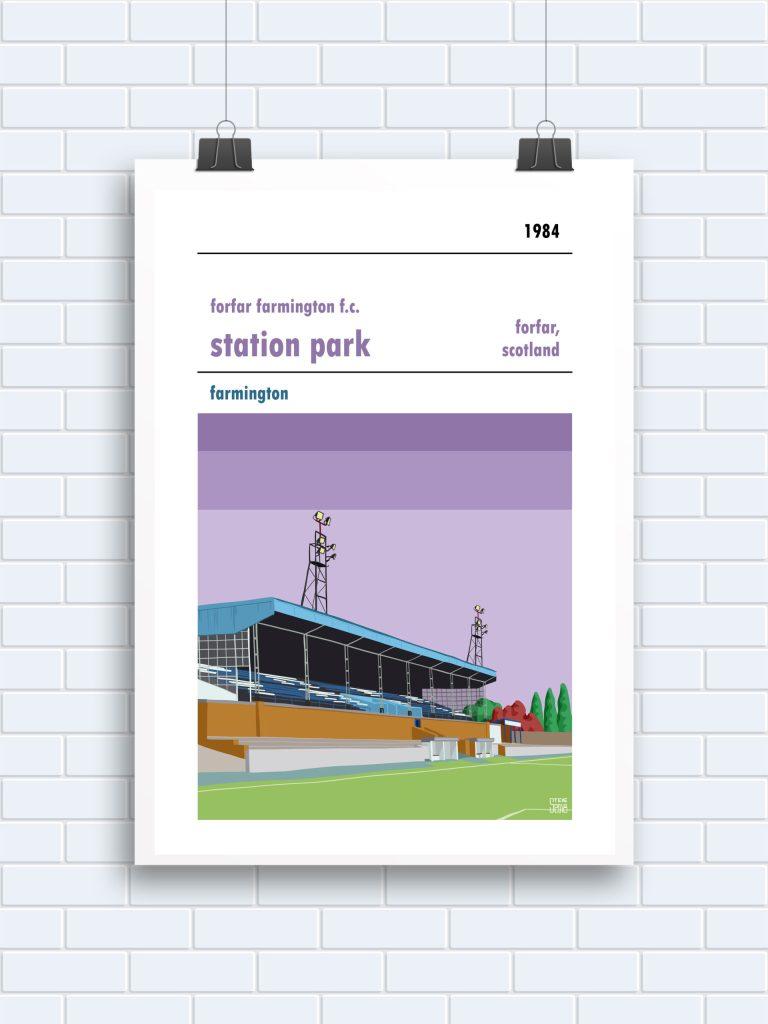 Forfar Farmington Station Park Print