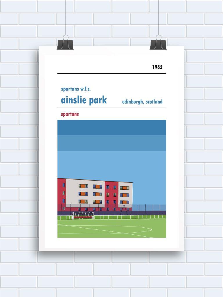 Spartans WFC Ainslie Park print
