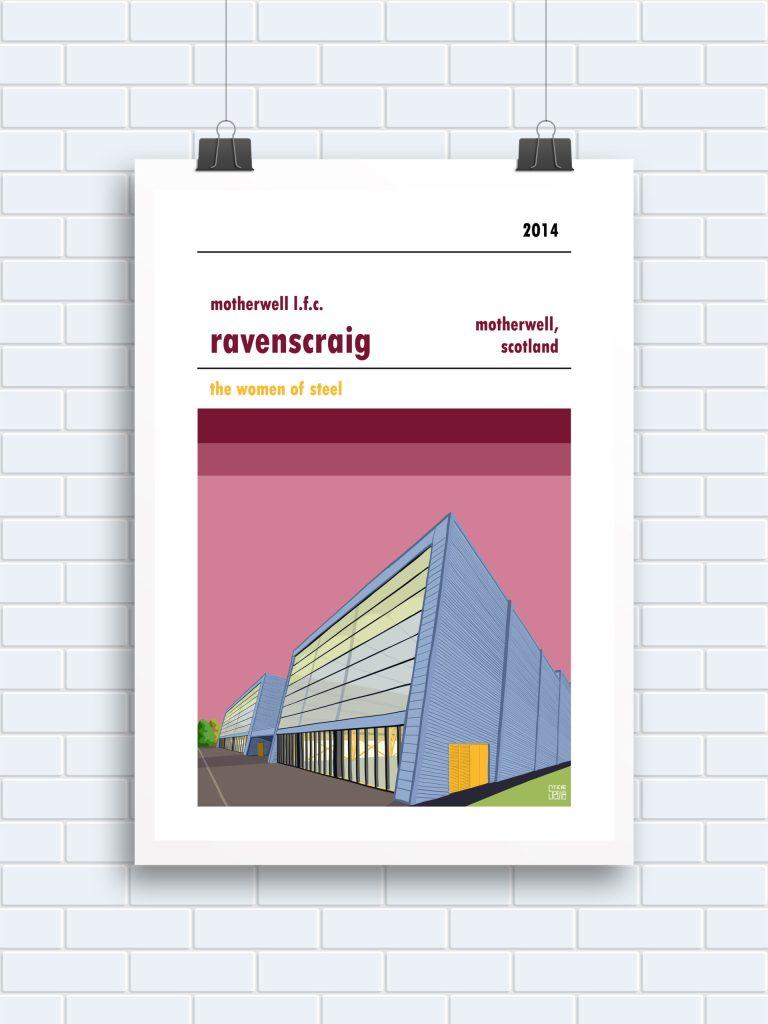 Ravenscraig Motherwell LFC print