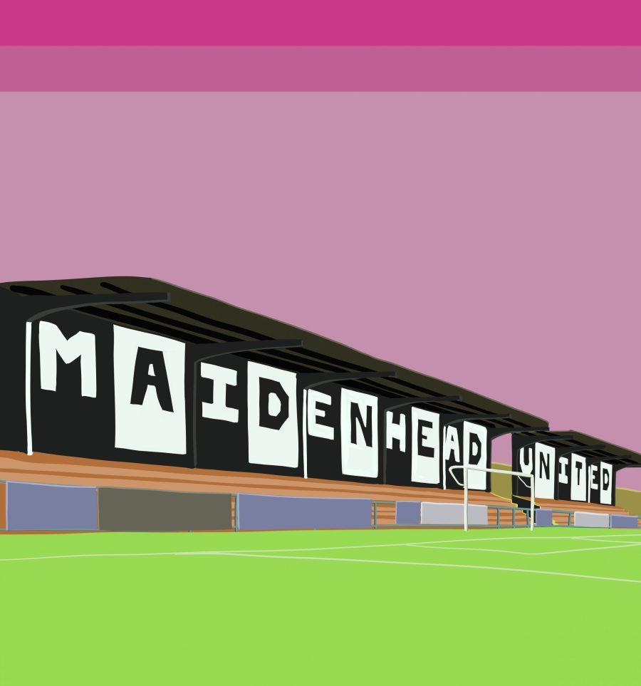 Maidenhead United FC Merchandise design