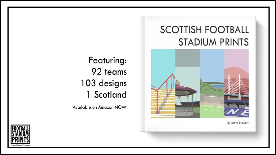 Scottish Football stadium Prints by Steve Stewart