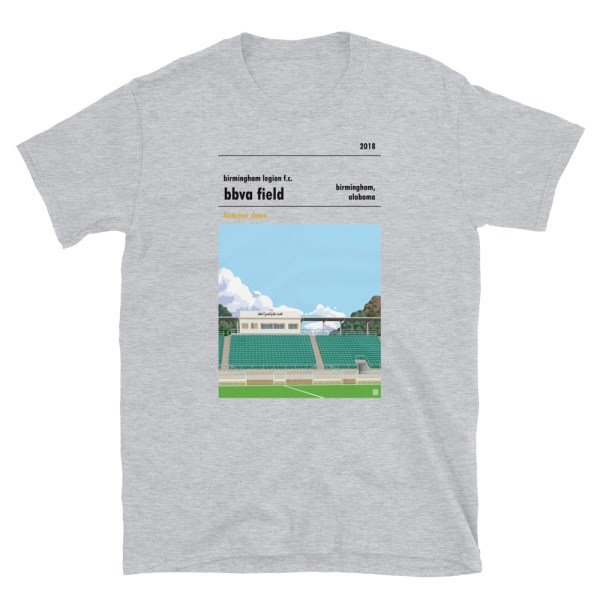 Birmingham Legion and BBVA Field t-shirt