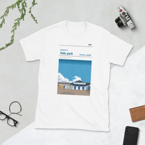 White Links Park and Montrose FC t-shirt