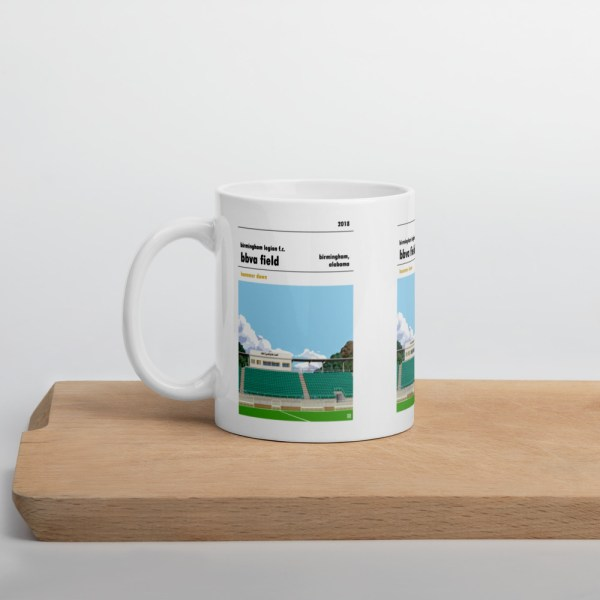Birmingham Legion and BBVA Field football Mug