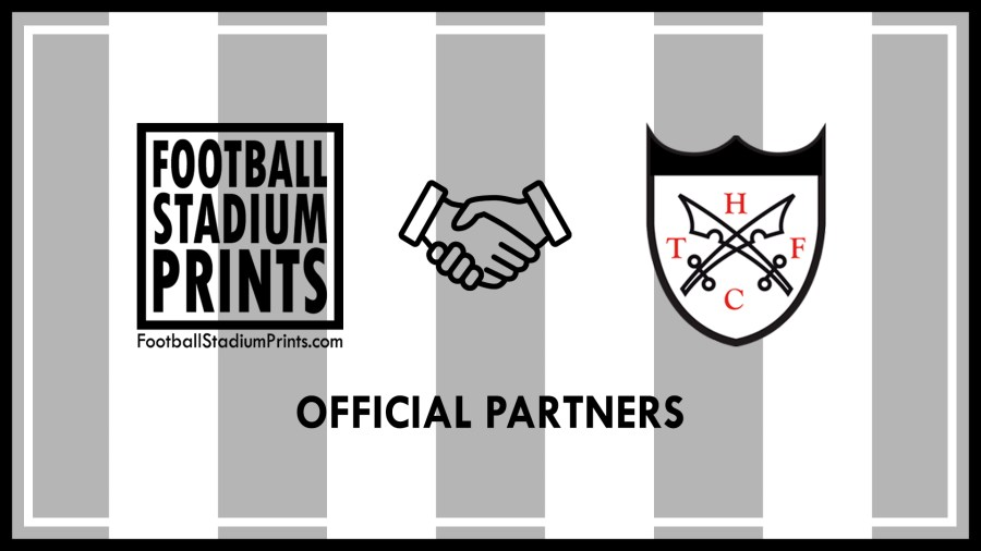 Official partnership between Hanwell Town FC and Football Stadium Prints