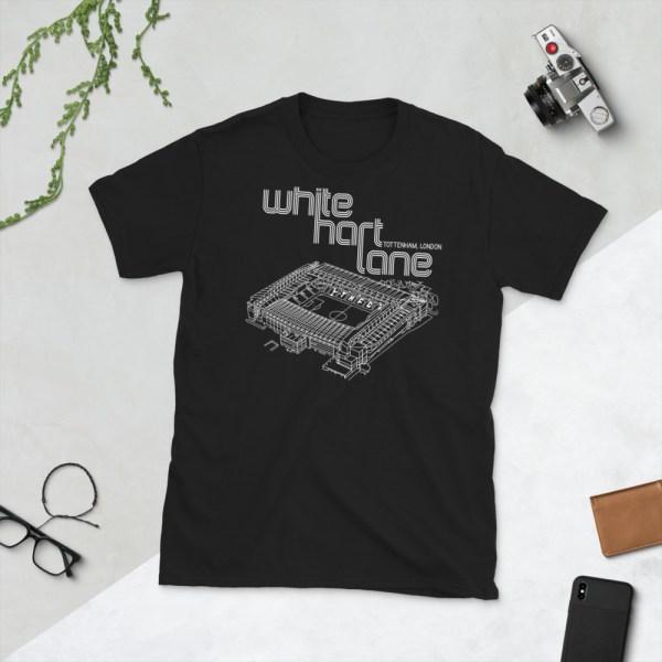 lack White Hart Lane and Spurs T-Shirt