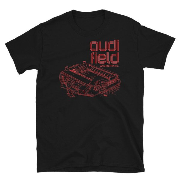 DC United and Audi Field tee