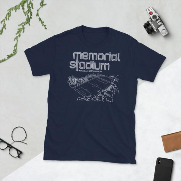 Navy Memorial Stadium and Asheville City SC T-Shirt