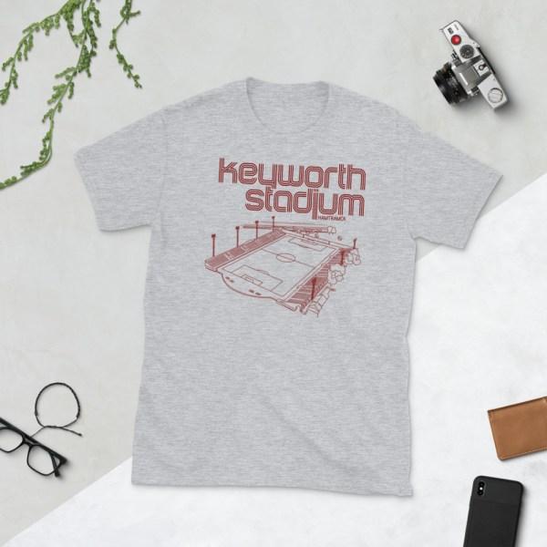 Gray Keyworth Stadium and Detroit City FC t-shirt