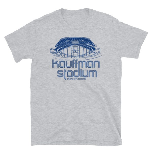 Kauffman Stadium and Kansas City Royals T-Shirt