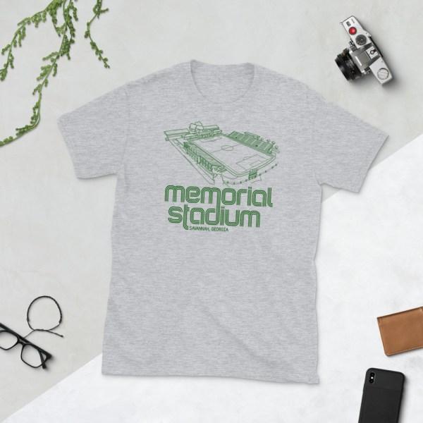 Gray Memorial Stadium and Savannah Clovers Football Club T-Shirt