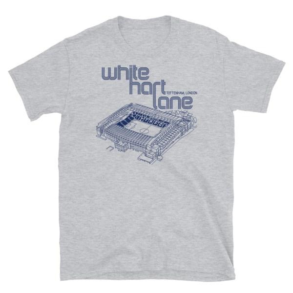 Gray White Hart Lane and Spurs T-Shirt