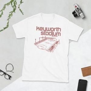 White Keyworth Stadium and Detroit City FC t-shirt