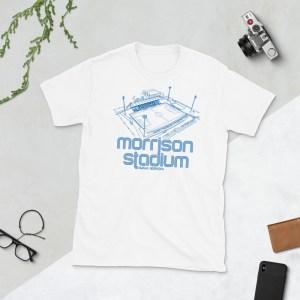 White Morrison Stadium home to Creighton BlueJays Soccer Team T-Shirt
