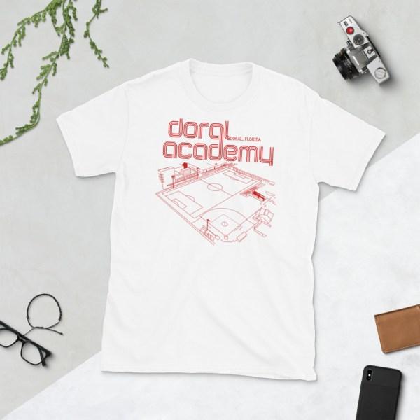 White Doral Academy t-shirt