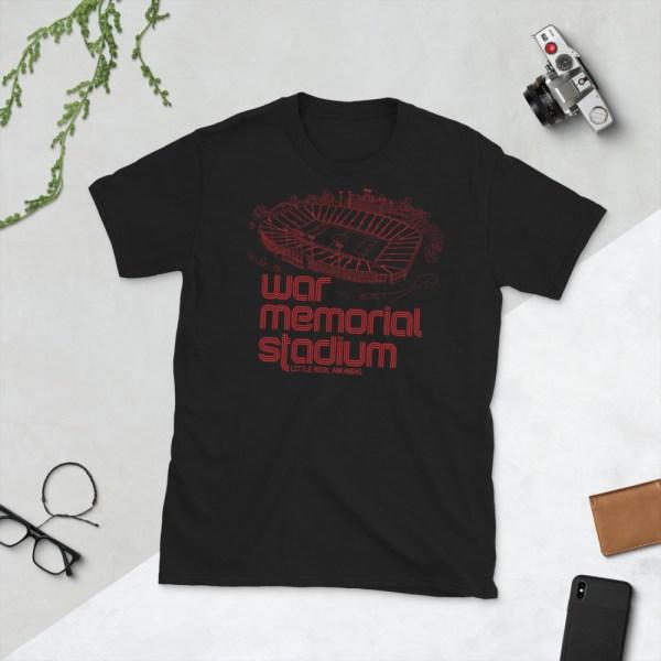 Black War Memorial and Little Rock Rangers t-shirt