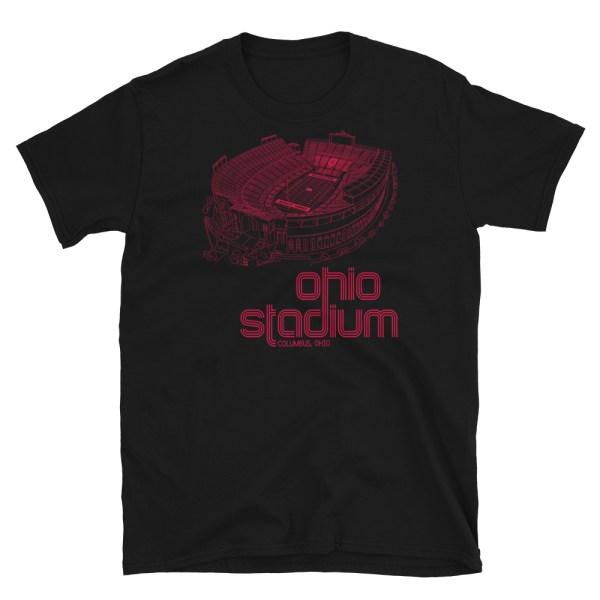 Ohio Stadium and Buckeyes T-Shirt