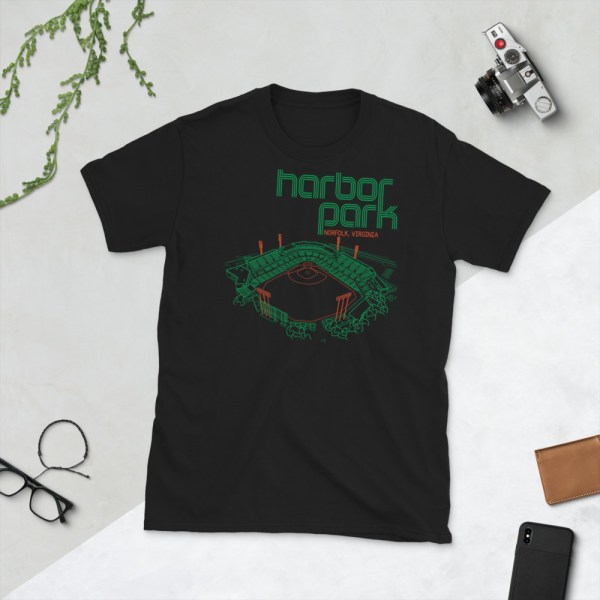 Black Harbor Park and Norfolk Tides T-Shirt