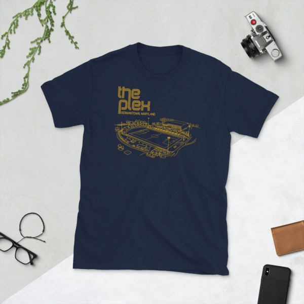 Navy Maryland Bobcats and The Plex T-Shirt