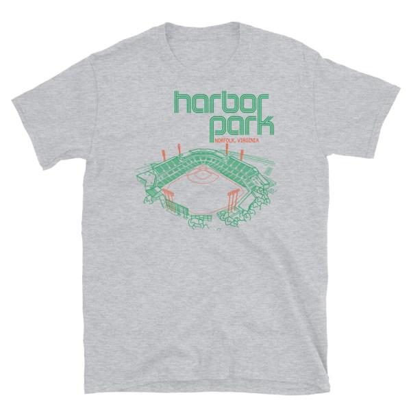 Harbor Park and Norfolk Tides T-Shirt