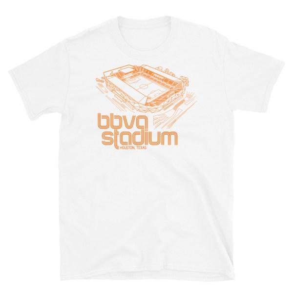 BBVA Stadium and Houston Dynamo and Dash T-Shirt