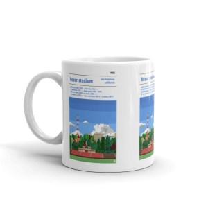 San Francisco City and Kezar Stadium Coffee Mug
