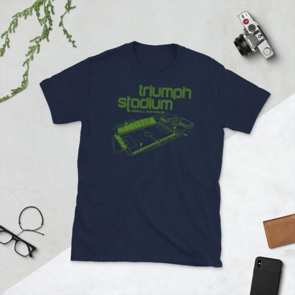 Navy Greenville Triumph T-Shirt