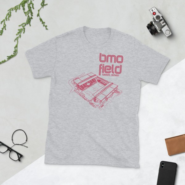 Grey BMO Field T-shirt