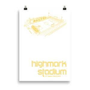 Large Highmark Stadium and Pittsburg Riverhounds Soccer Print