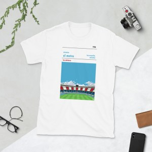 White Colombia and El Metro T-shirt