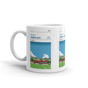 Dudgeon Park and Brora Rangers Football Mug