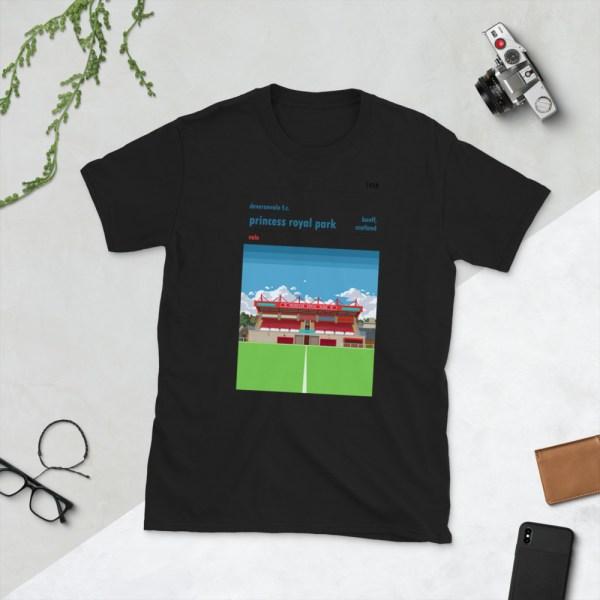 Black Deveronvale and Princess Royal Park T-Shirt
